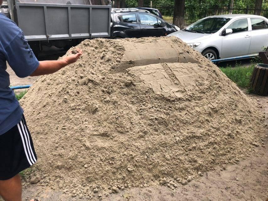Доставка піску ОСББ Деснянського району
